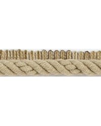 1/2 in Braided Cord W/Lip CC3804 KHA by  Brimar Trim