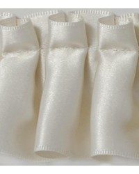 2 in Pleated Satin Ribbon E92384 CNZ by