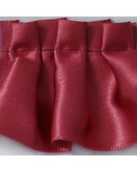 2 in Pleated Satin Ribbon E92384 RCH by