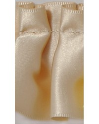 2 in Pleated Satin Ribbon E92384 VNI by