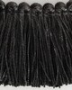 Brimar Trim 3/8 in  Metallic Brush Fringe GPH