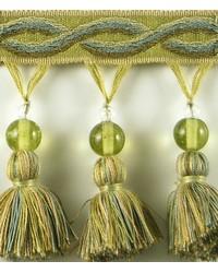 3 1/4 in Glass Bead Tassel Fringe HA120 PDT by