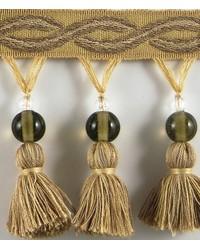 3 1/4 in Glass Bead Tassel Fringe HA120 SMQ by