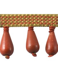 2 in Wood Bead Fringe HA130 CRL by