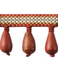 2 in Wood Bead Fringe HA130 ROQ by