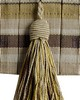 Brimar Trim 3 1/4 in Tassel Pleated Tape WIL