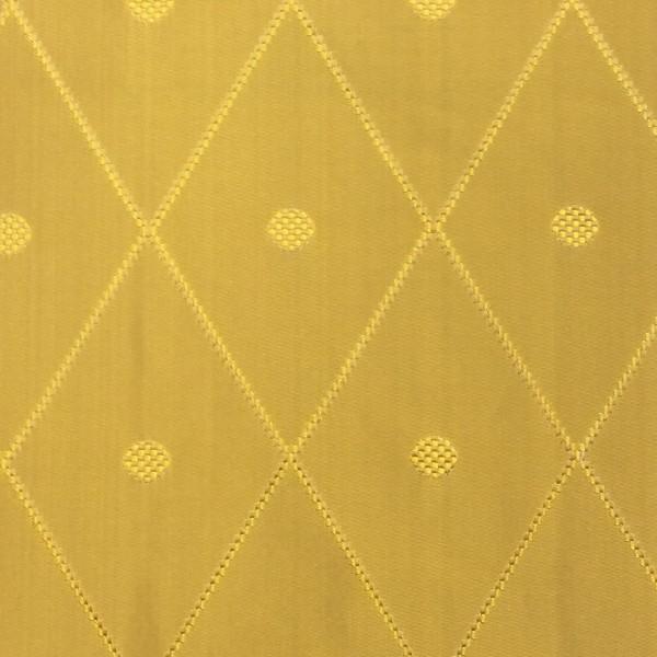 Catania Silks Ovation Saffron Silk Fabric
