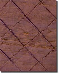 Dupioni 100 Diamond Silk Eggplant by