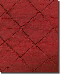Dupioni 100 Diamond Silk Scarlet by