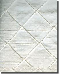 Dupioni 100- Diamond Silk  White by