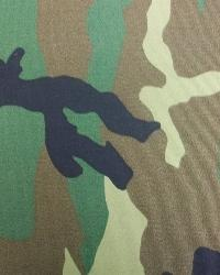 Green Camo Fabric  Standard Camouflage