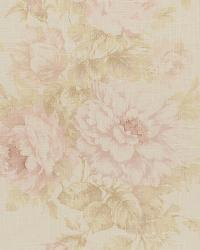 Pink Medium Print Floral Fabric  Jasmine 7 Blush