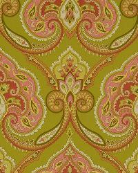 Jacobean Fabrics  Kashmiri 888 Spring