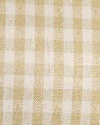 Linley Gingham 1 Honey Beige by