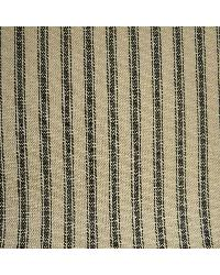 New Woven Ticking 196 Linen Black by