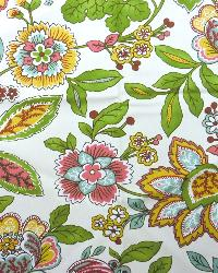 Multi Large Print Floral Fabric  Sadie 11 Multi