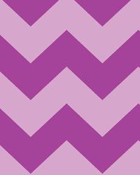 Chevron Stripe Tonal Purple Cotton Print by