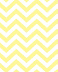 David Textiles Baby Chevron Yellow Cotton Print Fabric