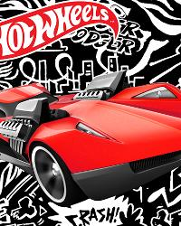 Hot Wheels Fast Car Panel by