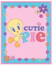 Baby Looney Tunes Cutie Pie Anti-Pill Fleece Panel by