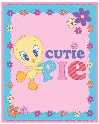 Baby Looney Tunes Cutie Pie Anti-Pill Fleece Panel by