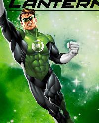 Green Lantern in Space Anti-Pill Fleece Panel by