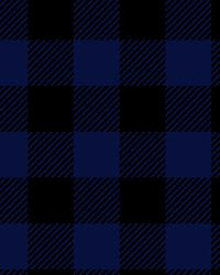 David Textiles Lumberjack Plaid Royal Blue Fabric
