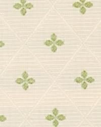 Green Floral Diamond Fabric  15284 303
