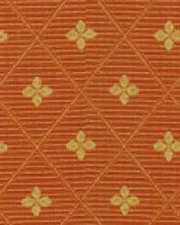 Orange Floral Diamond Fabric  15284 34