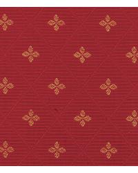 Red Floral Diamond Fabric  15284 565