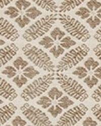 Beige Floral Diamond Fabric  15326 15