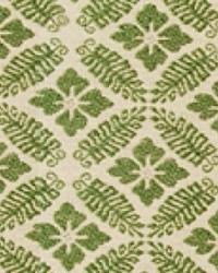 Green Floral Diamond Fabric  15326 341