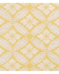 Yellow Floral Diamond Fabric  15326 632