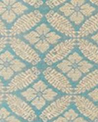 Blue Floral Diamond Fabric  15326 691