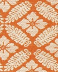 Orange Floral Diamond Fabric  15326 708