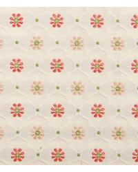 Orange Floral Diamond Fabric  15337 138