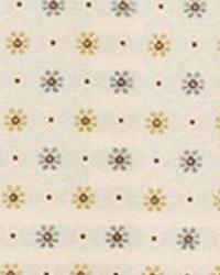 Beige Floral Diamond Fabric  15337 15