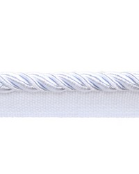 Aster Pure White Lip Cord by  Europatex Trimmings