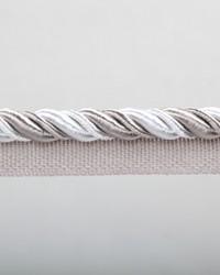 Grey EuropaTex Trim EuropaTex Trimmings Aster Ice Lip Cord