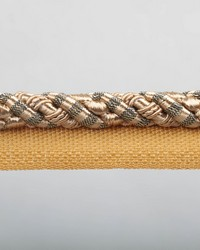 Blossom Gold Metallic Lip Cord by  Europatex Trimmings