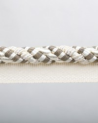 Blossom Ivory Metallic Lip Cord by  Europatex Trimmings