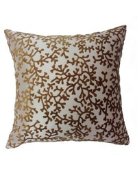 Coral Pillow Bronze by
