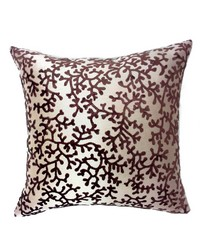 Coral Pillow Brown by