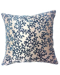 Coral Pillow Blue by