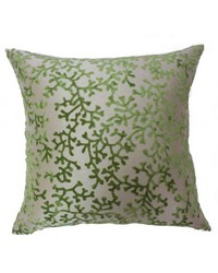 Coral Pillow Green by