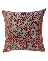 Coral Pillow Rust by