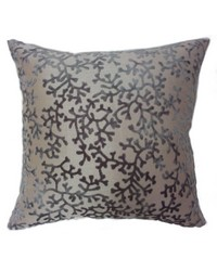 Coral Pillow Steel by
