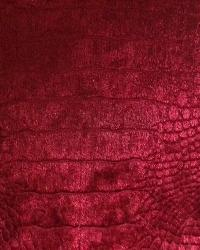 Crocodile Ruby Velvet by