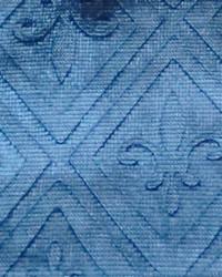 Blue Fleur de Lis Fabric  Elegance B Fleur de lis Navy