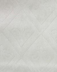 White Fleur de Lis Fabric  Elegance B Fleur de lis White